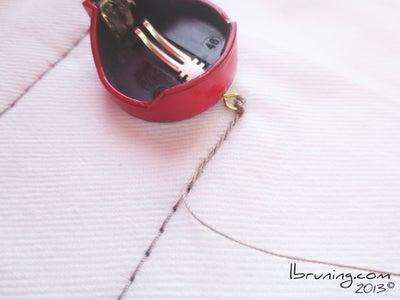 Sew Battery Holder