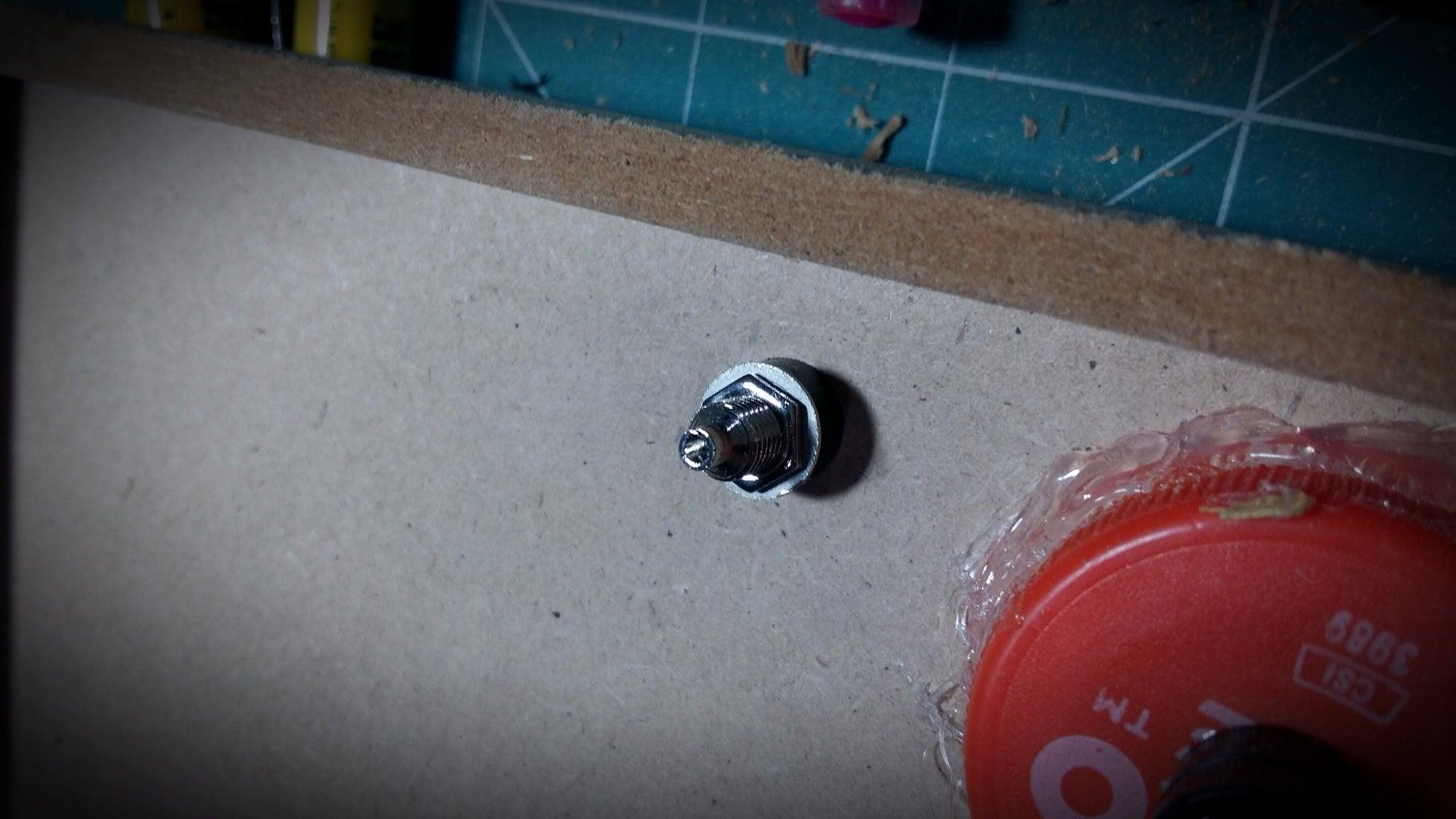 Instalação Dos Bornes E Leds 5mm