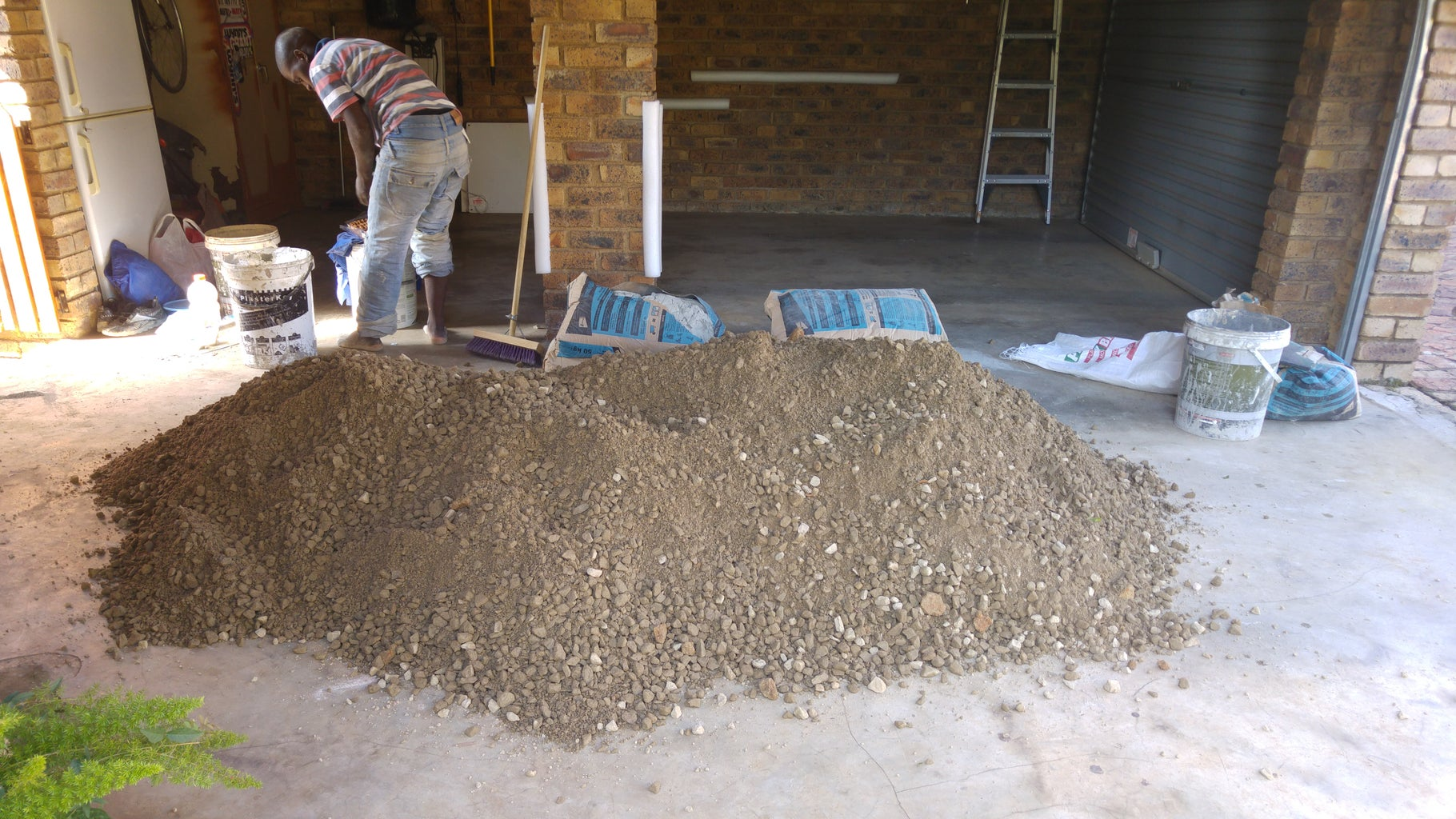 The Concrete Slab.. Continued