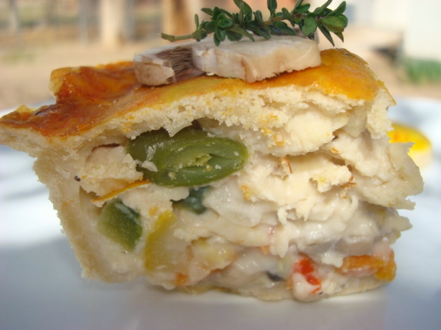 It's Thyme For Pi In The Sky Chicken Pot Pie!