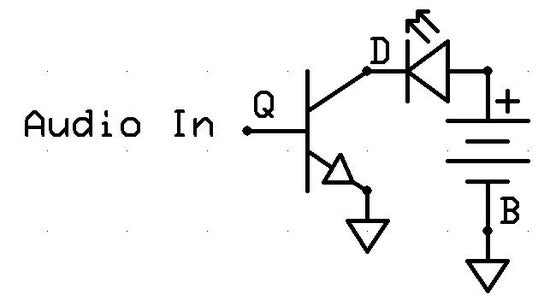 Sound to Light: Step 2: the Circuit