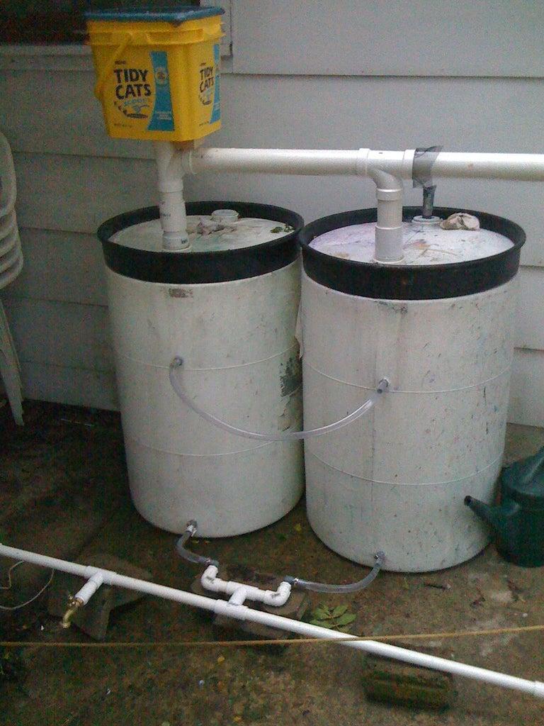 Rain Barrel Project