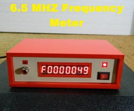 DIY 6.5MHz Arduino Frequency Meter With MAX7219 7segment Led Module