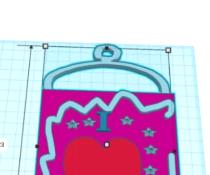 (TinkerCAD) Valentine Placard (Basic)