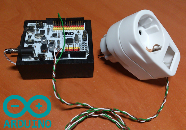 Microcontrolled AC Switch.