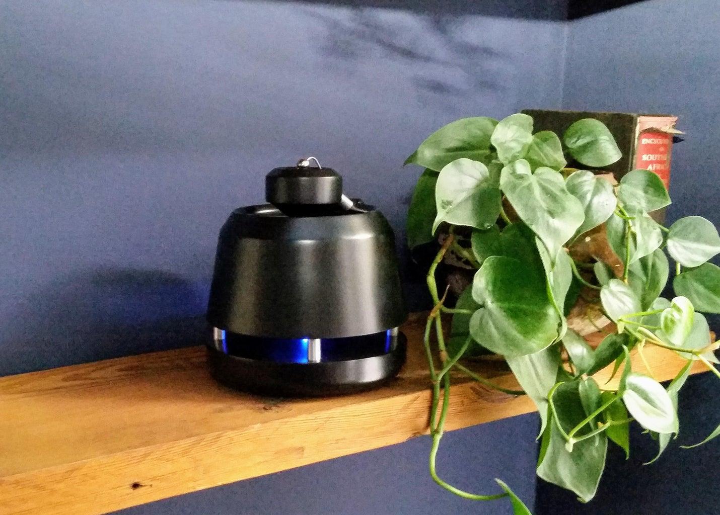 3D Printed Omnidirectional Bluetooth Speaker