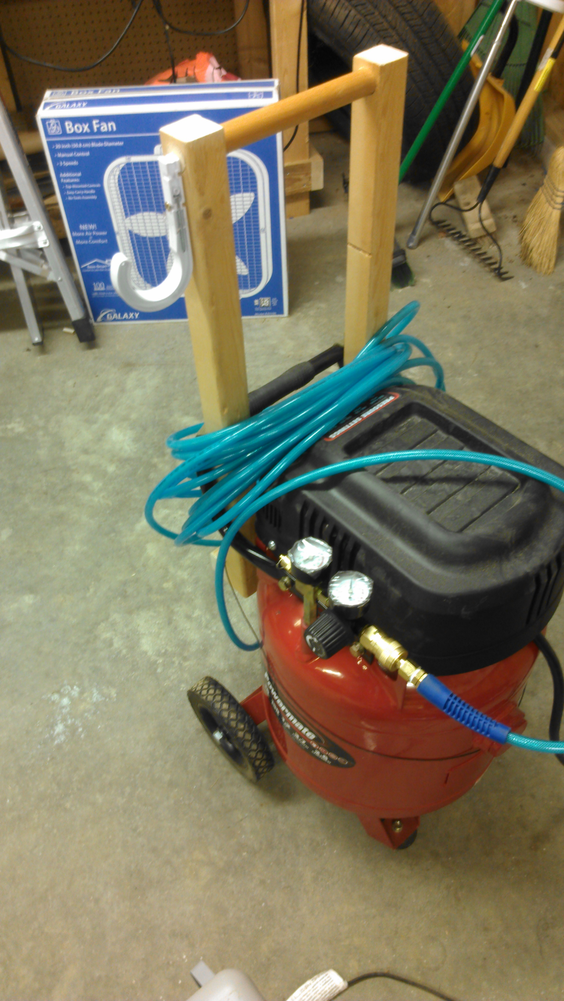 New compressor handle