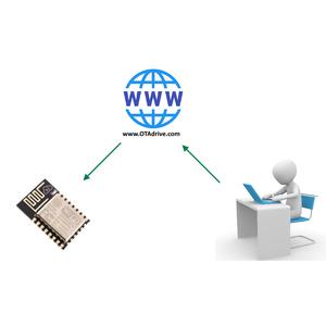 Easy Update ESP8266/ESP32 Via Internet (OTA Server for ESP8266)
