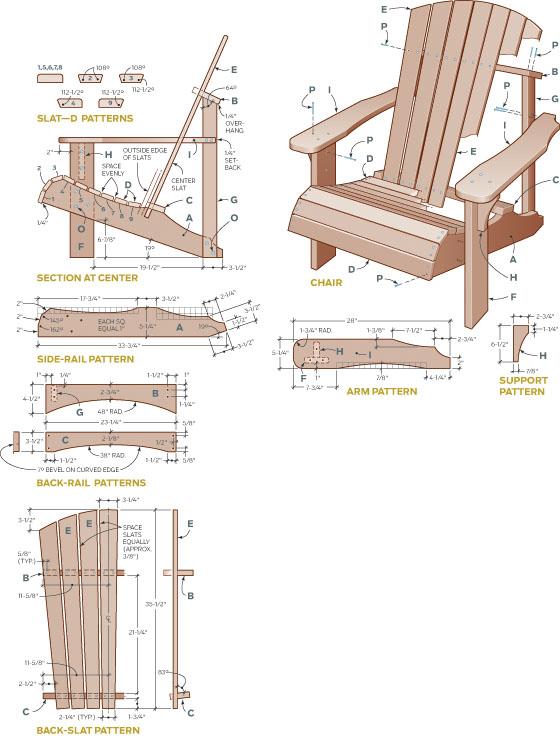 diy adirondack chairs 3