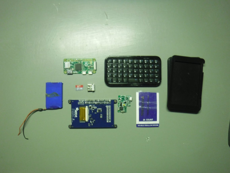 Parts/Tools Necessary
