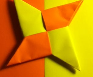 How to Make a Simple Paper Ninja Star