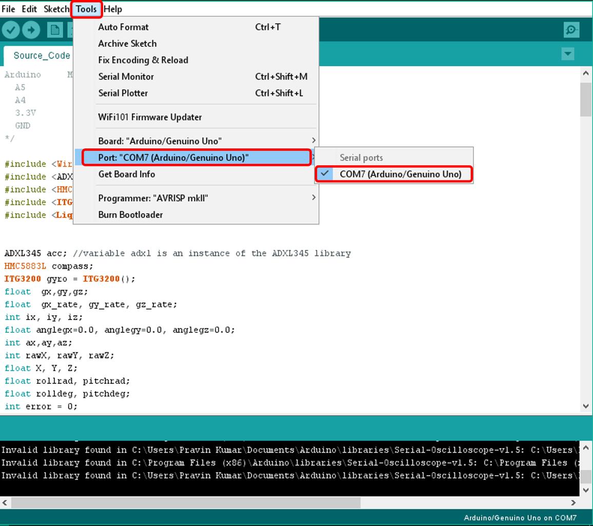 Step 5: Sample Source Code