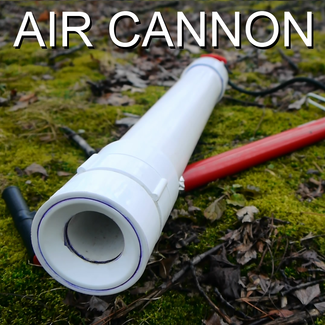 How to Make a Coaxial Air Cannon