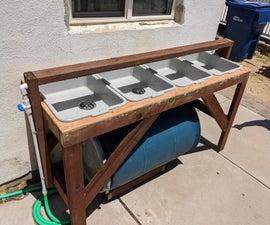 Outdoor Handwashing Station