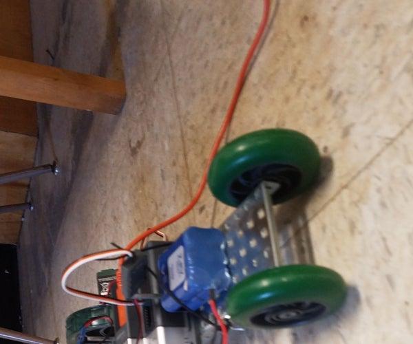 ROBOTC VEX Light Sensor Car