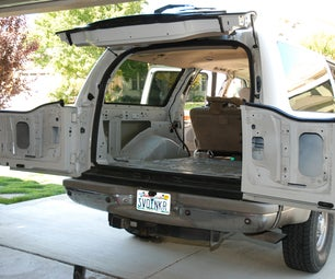 Auto Sound Deadening - Part II - More Matting and Using Expanding Foam