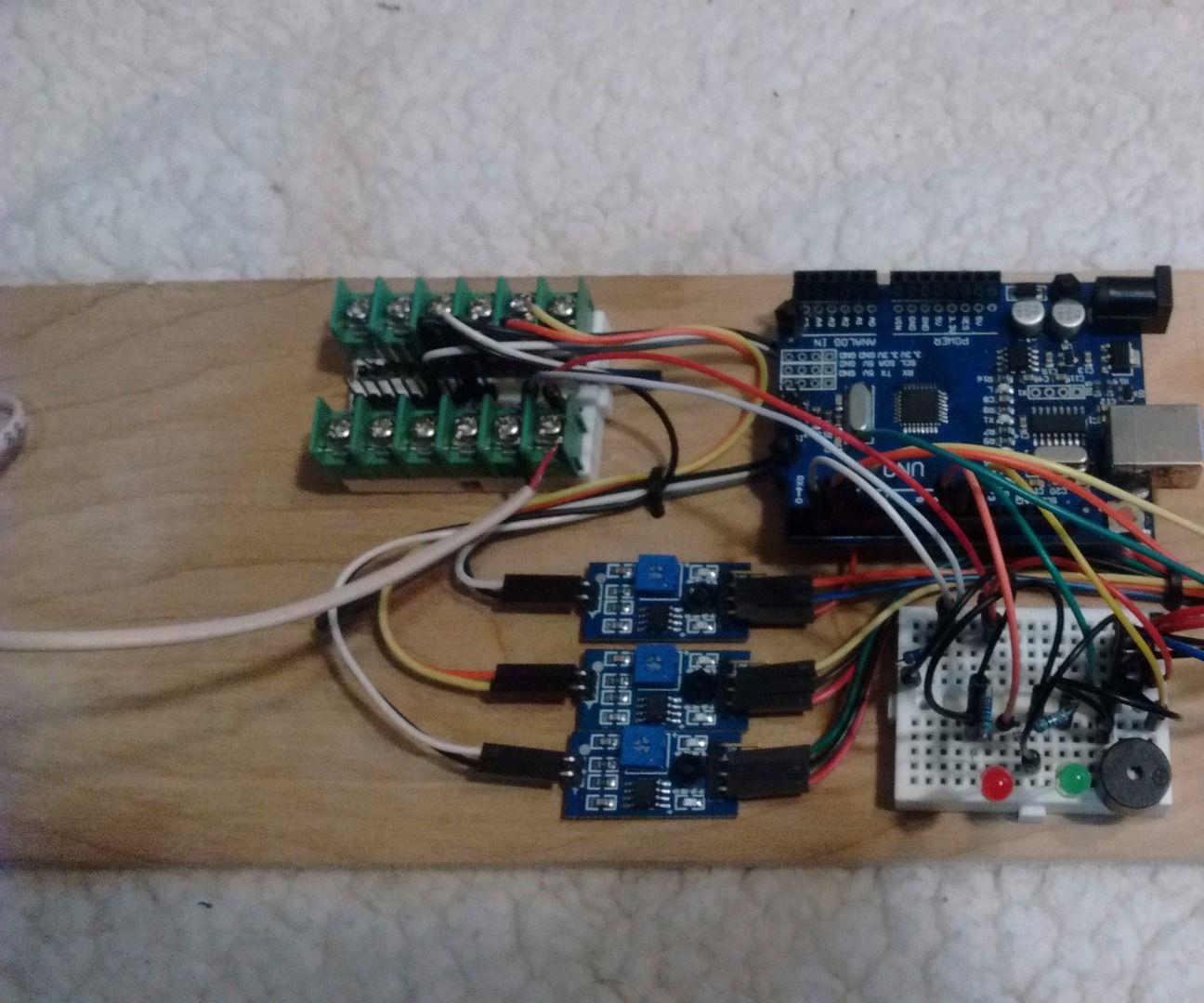 Basement Flood Alarm - Arduino