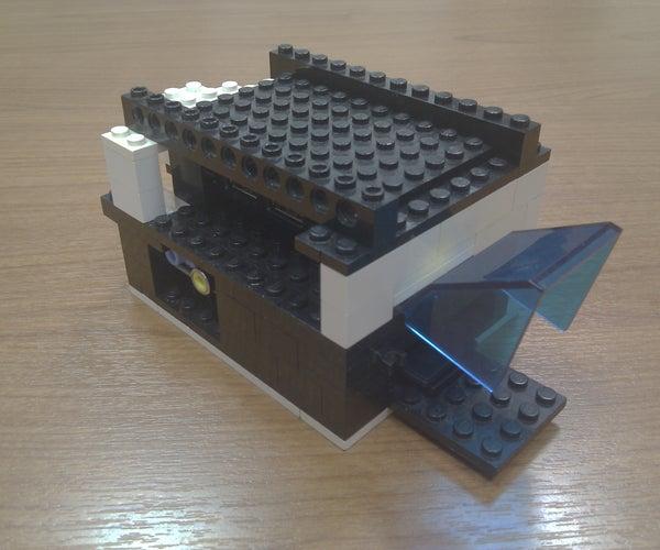 Raspberry Pi + USB Hub Lego Case
