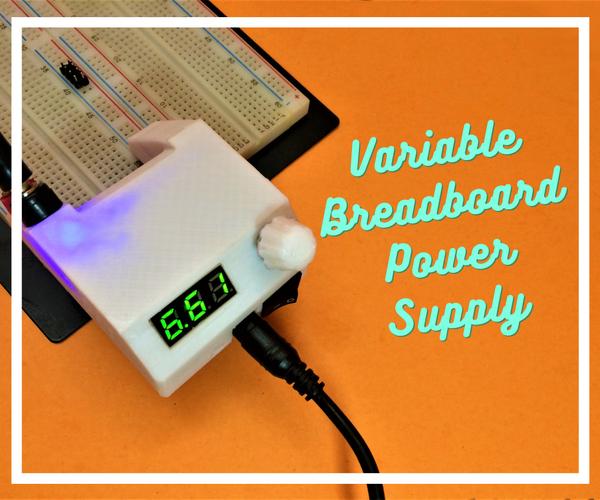 可变面包板电源