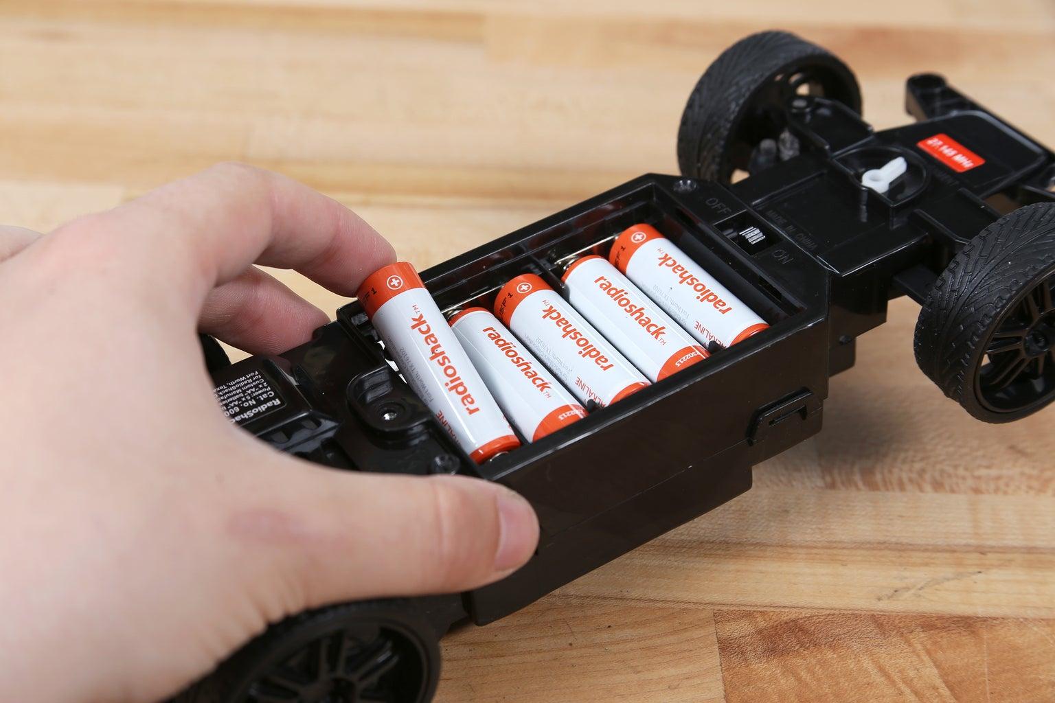 Batteries and Zip Tie