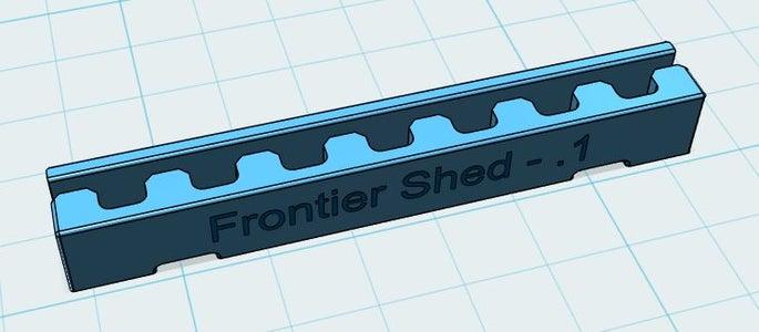 3D Parts Design - Timing Belt Splice Clip