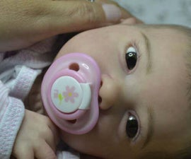 How to Make a Baby Pacifier for Neodymium Magnets?