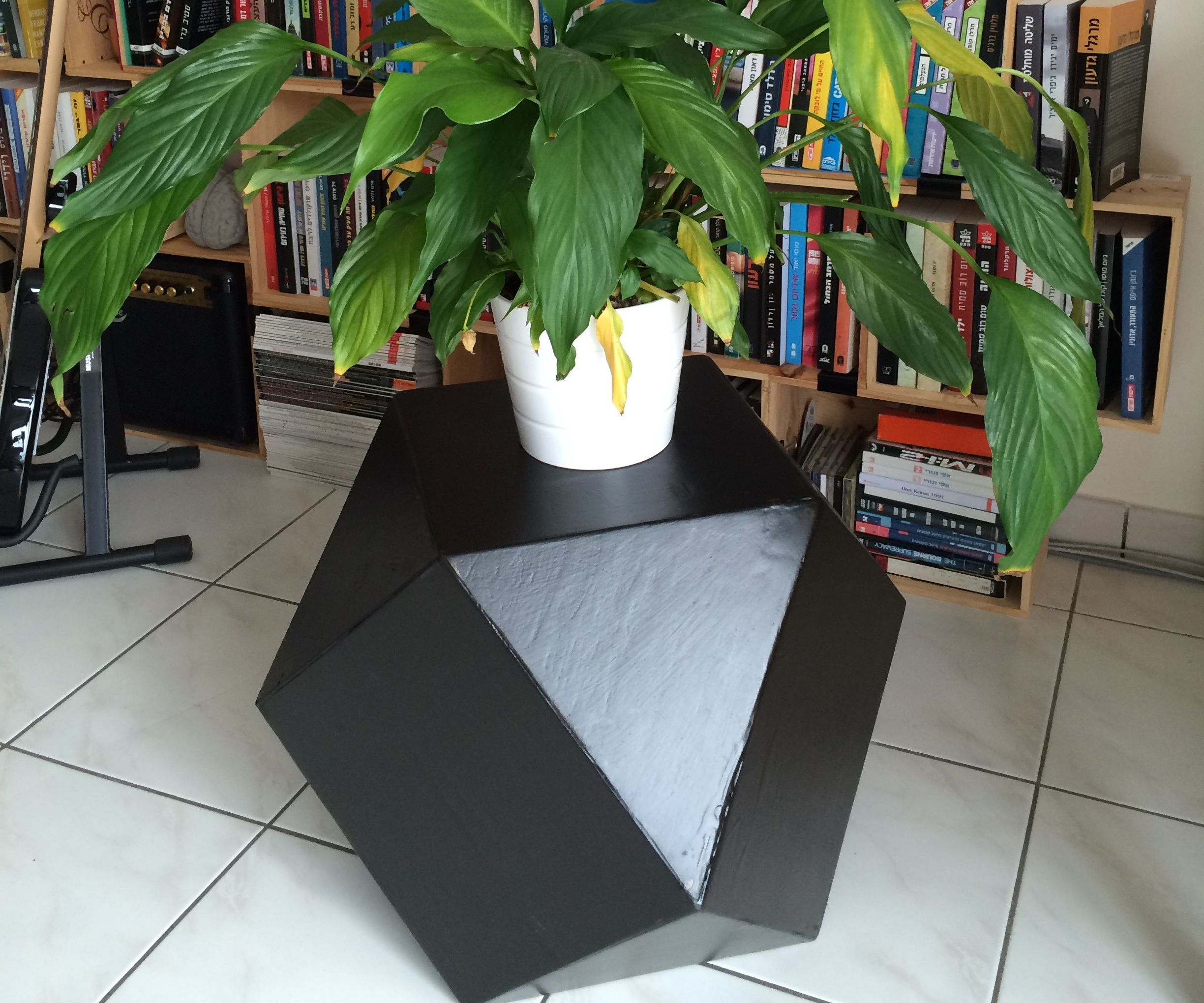 Squares and Triangles Decoration Box