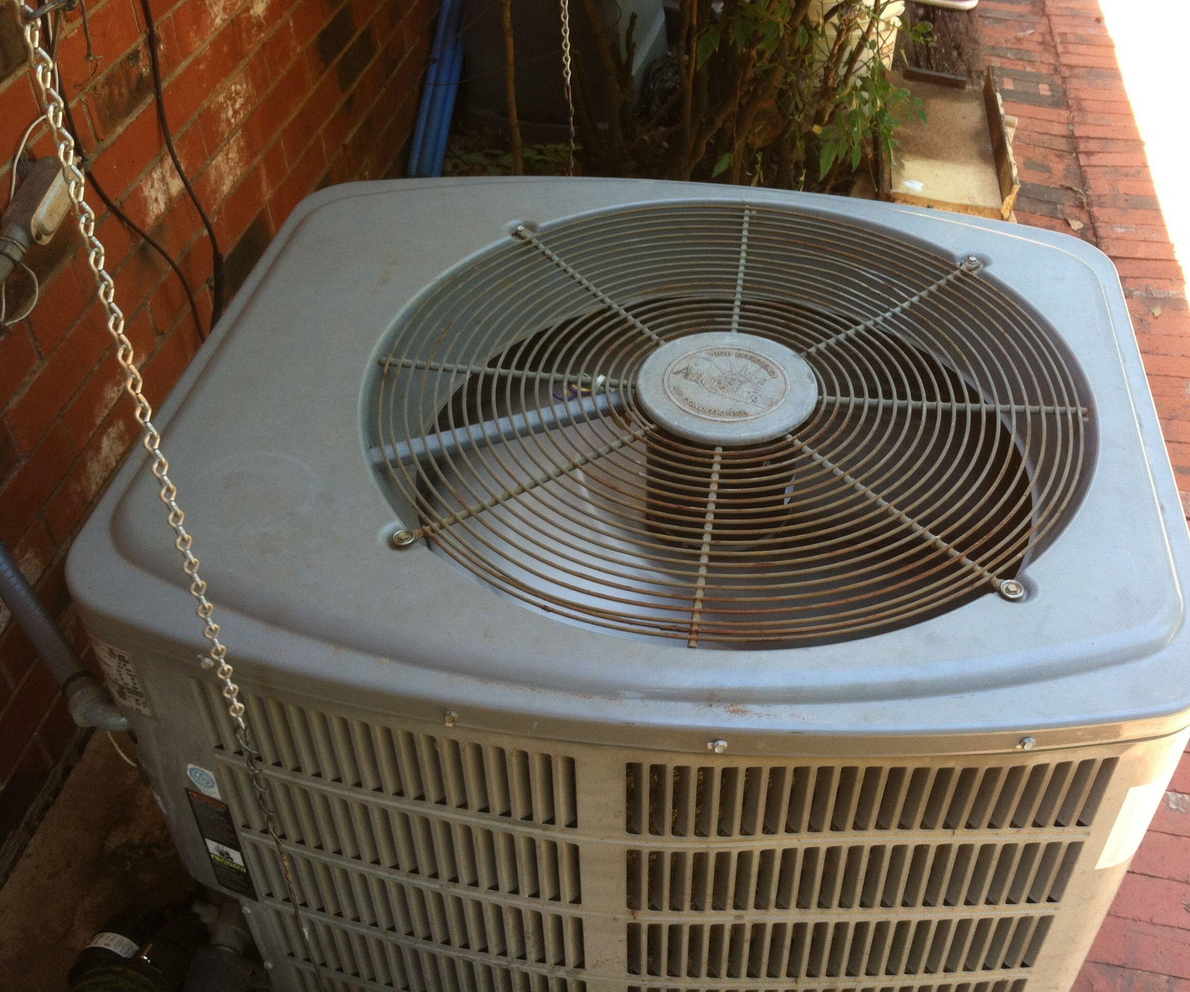 Temporary A/C Compressor Fan