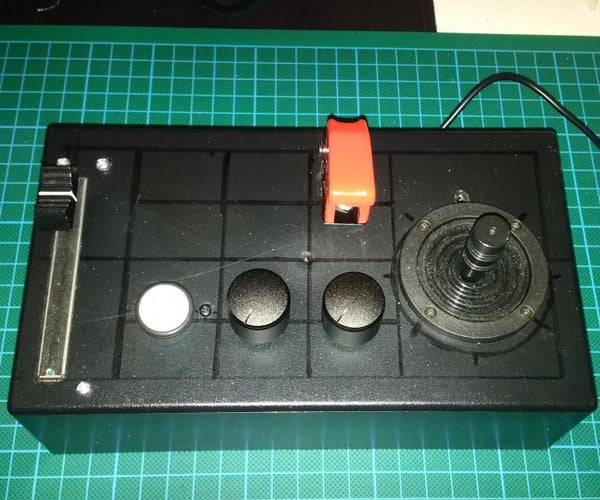 $50 Analog HOTAS Joystick With Haptic Feedback for Elite Dangerous