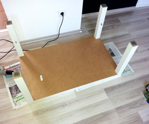 Ikea Hack: Lack Table With Drawer
