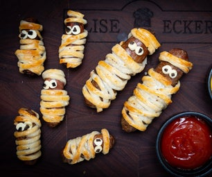 Mummy 'pigs in a Blanket'