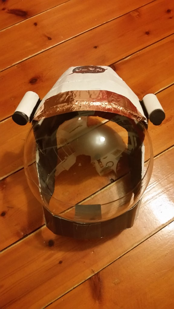 Painting the Skull Cap and Making the Fake Visor