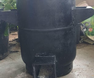 Wood Stove With Recycled Materials