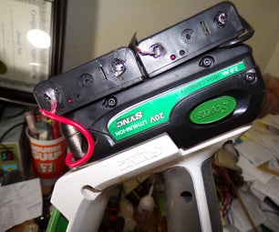 Making a Functional Replacement for a Scotts 20V Lithium Pack