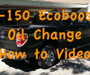 How to Perform an Oil Change on a Ford F-150 Ecoboost