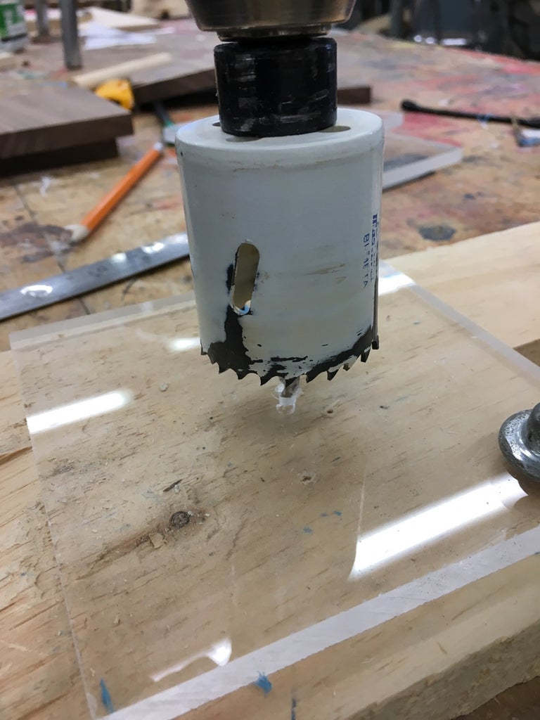 Drill Center Cavity