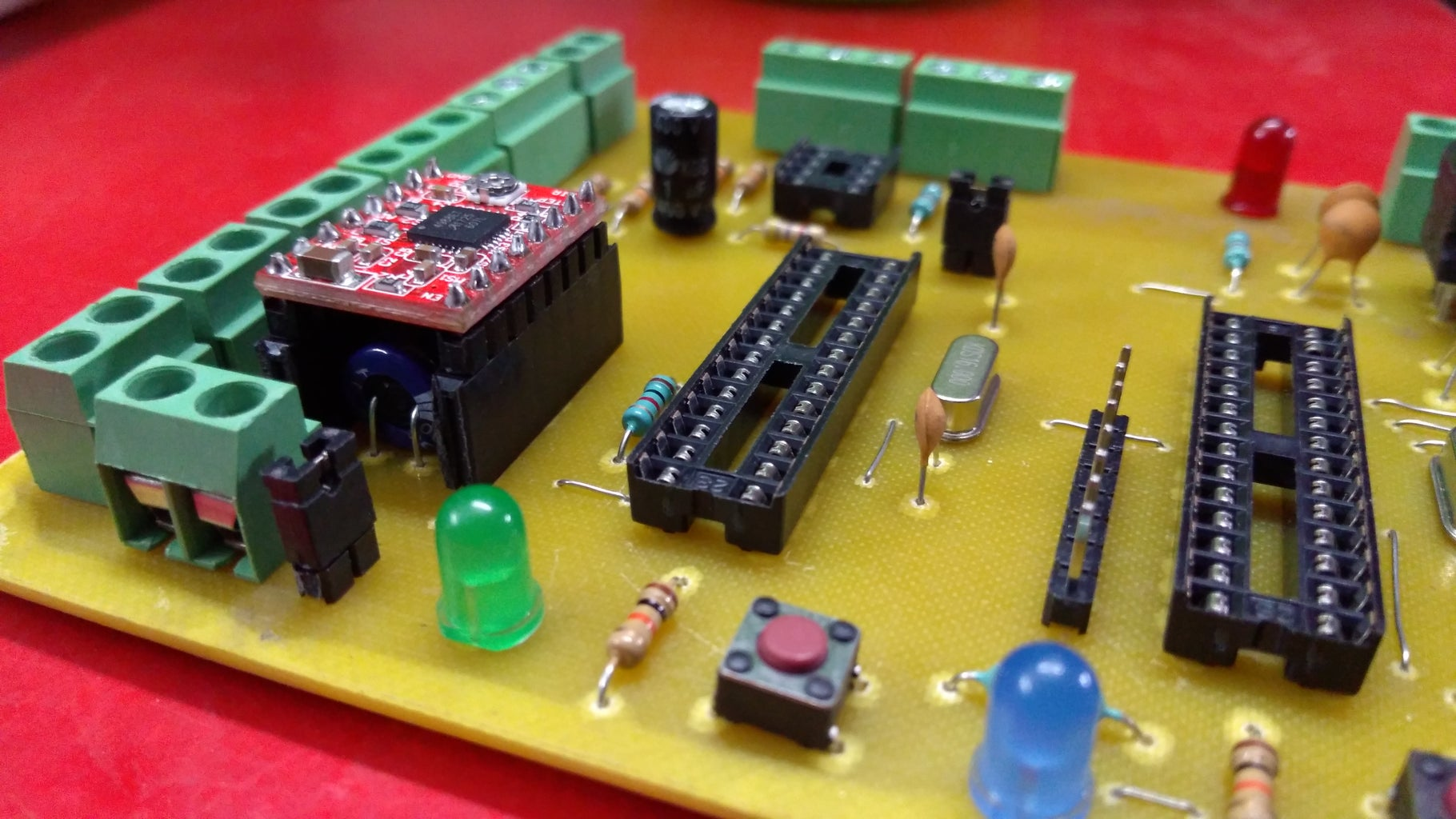 The Second Version of Motherboard for DigiCon MDF Winding Machine