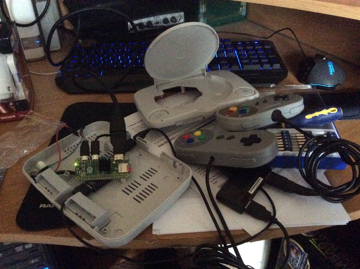 Prepare the Console & Power Switch