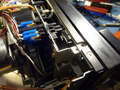 Removing the Tape Transport Mechanism Part Two
