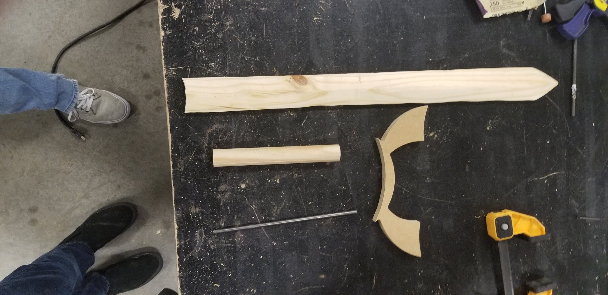 Creating the Guard and Hilt.
