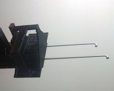 Method 1D Optional Component; Step 1 - Attach Sanding Block Caddy