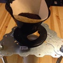 Metal Coffee Pour Over Stand