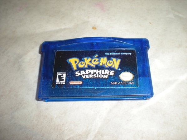 Pokemon Sapphire Battery Replacement