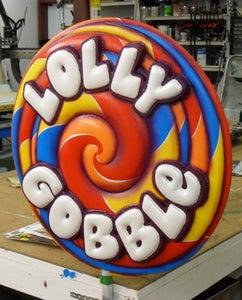 Giant Lollipop Sign