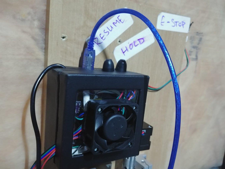 Electronics + Spindle