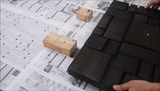 Epoxy Resin on Wood. (Optional)