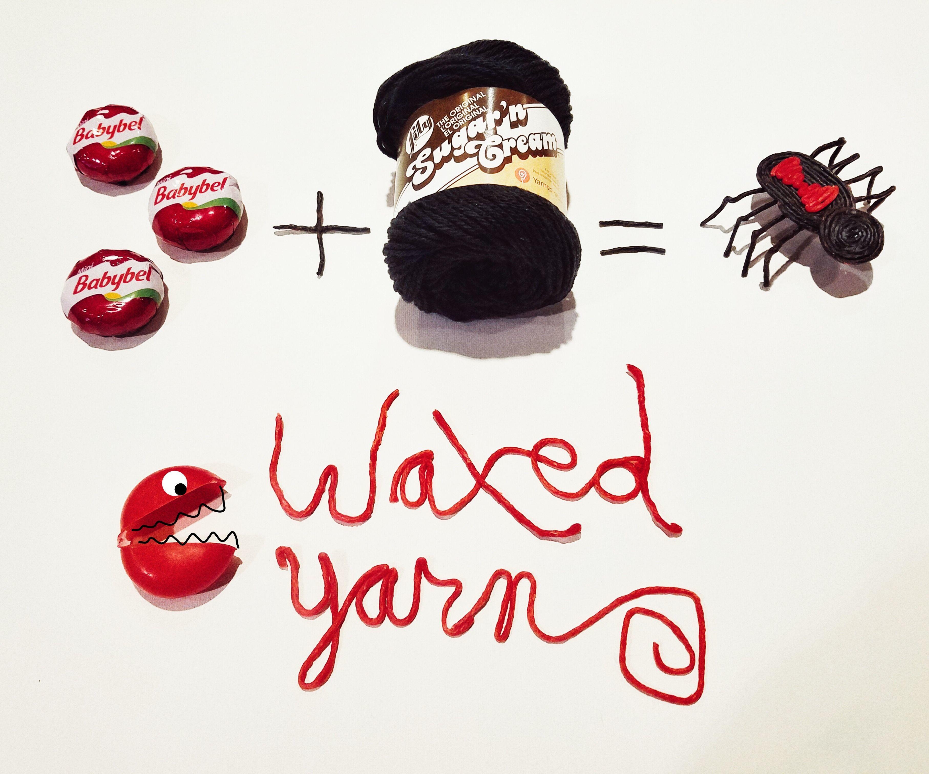 Posable Waxed Yarn Toy