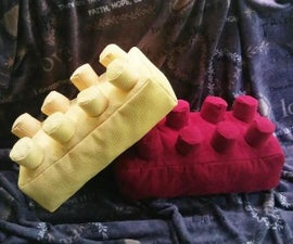 Lego® Brick Throw Pillows (with Free PDF Pattern!)