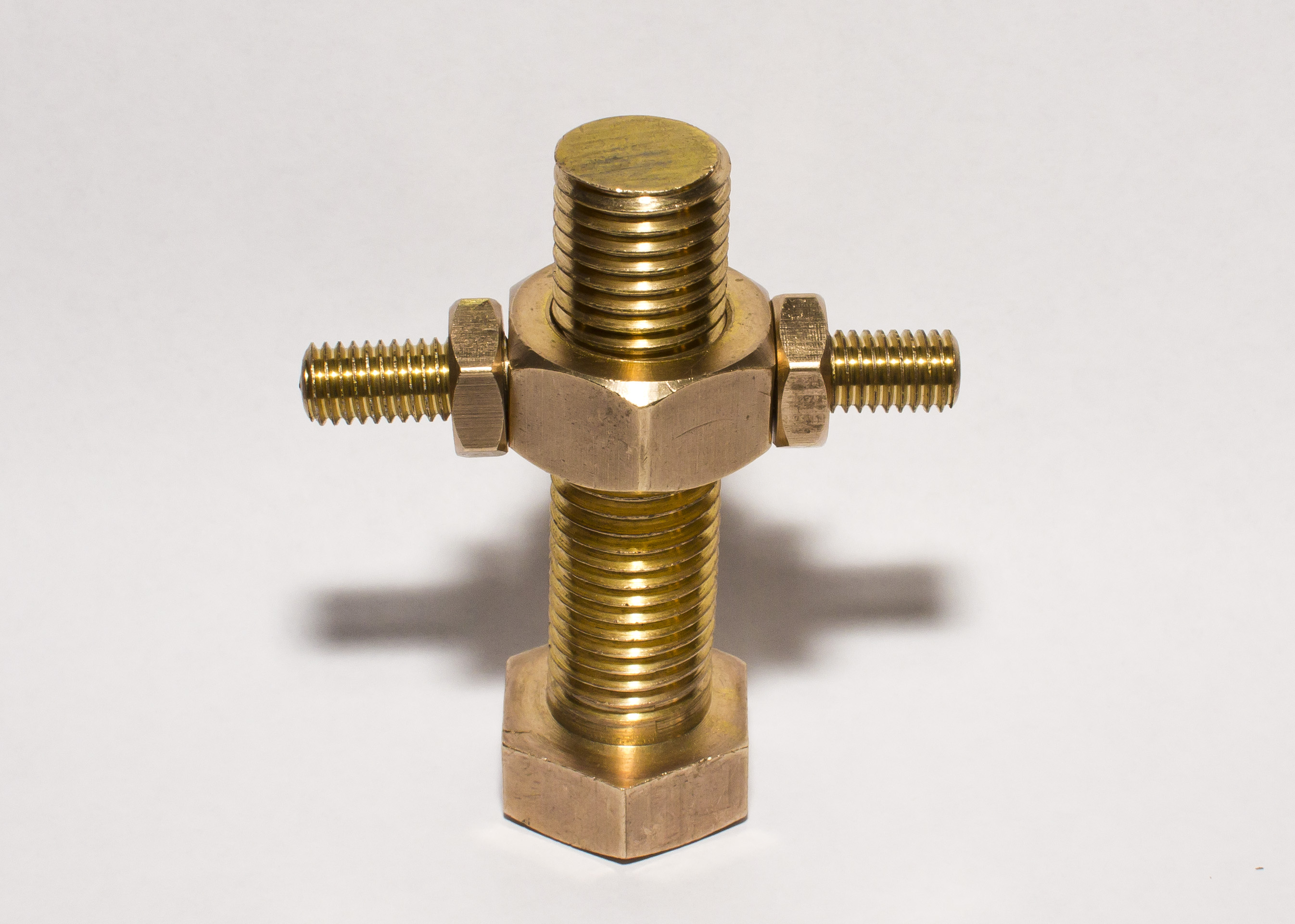 Brass Bolt Puzzle
