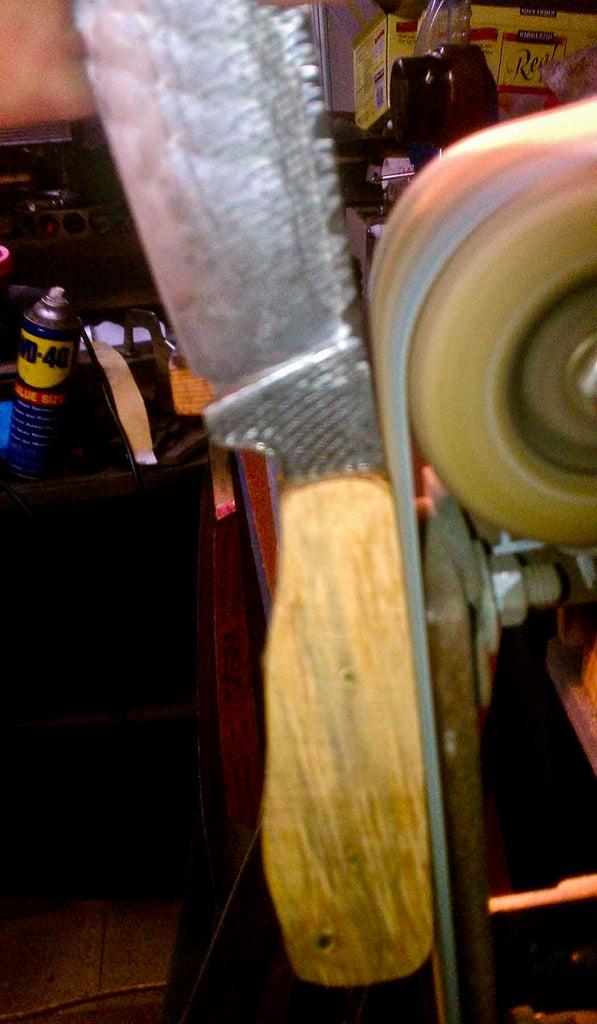Forging My 2013 Knife Dog's Neo-Tribal KITH Knife Entry...